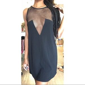 Small Nasty Gal LBD with mesh
